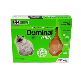 Dominal Pipetas Gatos + de 4kg